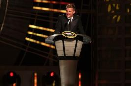 2012 Vegas Awards Clint Bowyer Speaks