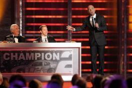 2012 Vegas Awards Howie Mandel Brad Keselowski Roger Penske