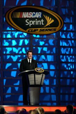 2012 Vegas Awards Tony Stewart Speaks