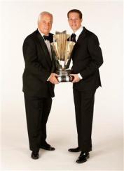 2012 Vegas Portrait Brad Keselowski Roger Penske Full