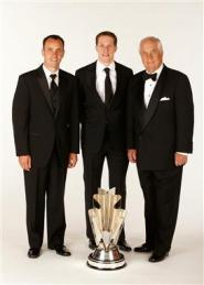 2012 Vegas Portraits Brad Keselowski Paul Wolfe Roger Penske