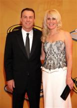 2012 Vegas Red Carpet Kevin Harvick with Wife