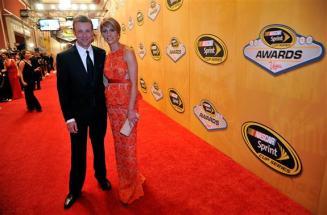 2012 Vegas Red Carpet Matt Kenseth with Wife