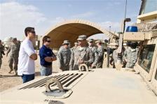 Joey Logano and Ricky Stenhouse Jr. USO Visit Kuwait