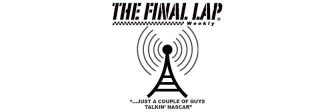 The Final Lap Podcast Logo Wide