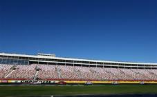 Charlotte 2013 Gen6 NASCAR Test Front Stretch