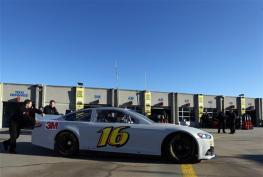 Charlotte 2013 Gen6 NASCAR Test Greg Biffle