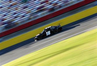Charlotte 2013 Gen6 NASCAR Test Kyle Busch 18 Toyota Camry