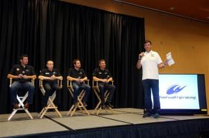 2013 Sprint Media Tour Michael Waltrip