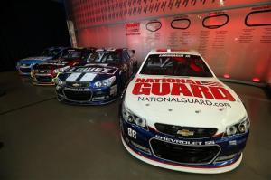 2013 NASCAR Sprint Media Tour Hendrick Cars