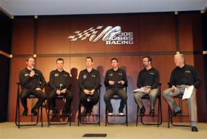 2013 NASCAR Sprint Media Tour Joe Gibbs Racing Drivers