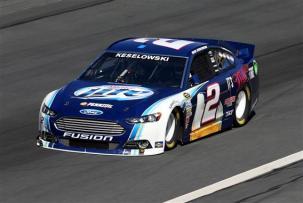 Charlotte 2013 Gen6 NASCAR Test Brad Keselowski 2 Ford Fusion