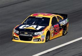 Charlotte 2013 Gen6 NASCAR Test Jeff Burton 31 Chevrolet SS