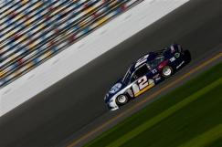 2013 Daytona Preseason Thunder Day 2 Brad Keselowski On Track