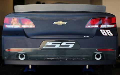 2013 Daytona Preseason Thunder Day 3 Dale Earnhardt Jr In Garage
