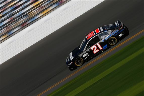 2013 Daytona Preseason Thunder Trevor Bayne On Track