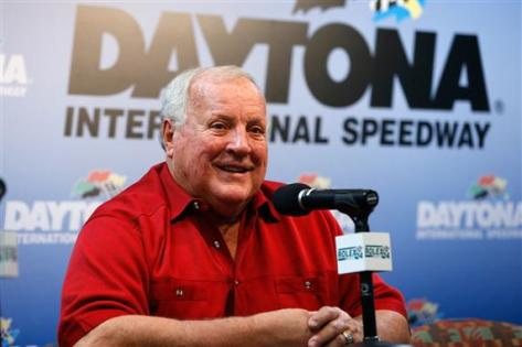 2013 Rolex 24 AJ Foyt Talks to Media