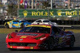 2013 Rolex 24 Waltrip Ferrari In Field