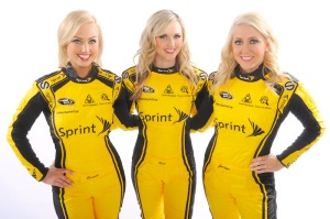 2012 Miss Sprint Cup Photo Shoot