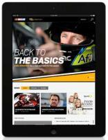 NASCAR.com iPad