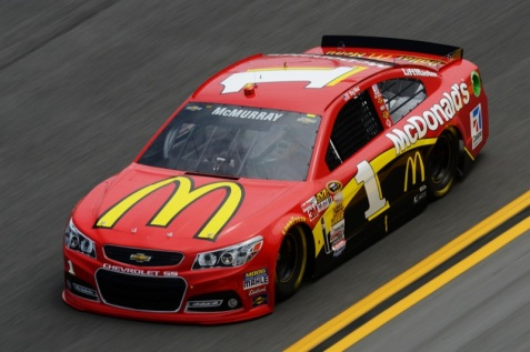 2013 Jamie McMurray 1 Chevrolet SS