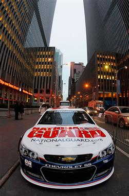 Dale Earnhardt Jr. 88 at Fox News Studios on February 7, 2013 in New York City.