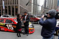 Michael Waltrip at Fox News Studios on February 7, 2013 in New York City.
