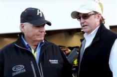 Rick Hendrick Richard Childress at Daytona