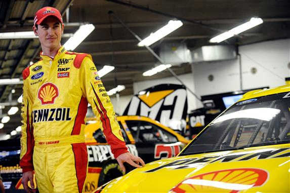 Joey Logano at Daytona