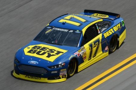 Daytona 500 - Practice Ricky Stenhouse Jr. 17 Ford Fusion