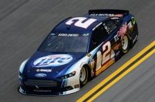 Daytona 500 - Practice Brad Keselowski 2 Ford Fusion
