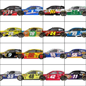 2013 Gen-6 Paint Schemes