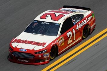 Daytona 500 - Practice Trevor Bayne 21 Ford Fusion