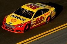Daytona 500 - Practice Joey Logano 22 Ford Fusion
