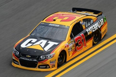 Daytona 500 - Practice Jeff Burton 31 Chevrolet SS