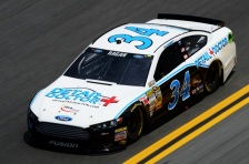 Daytona 500 - Practice David Ragan 34 Ford Fusion