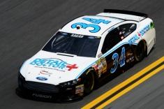 Daytona 500 - Practice David Ragan 34 Ford Fusion