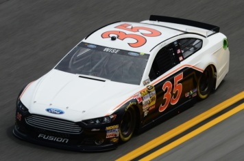 Daytona 500 - Practice Josh Wise 35 Ford Fusion