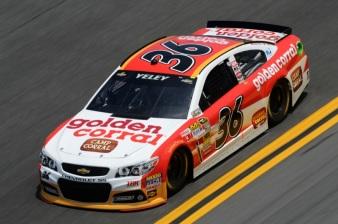 Daytona 500 - Practice JJ Yeley 36 Chevrolet SS