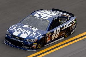 Daytona 500 - Practice Jimmie Johnson 48 Chevrolet SS