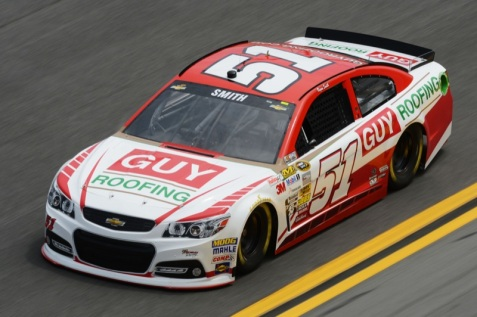 Daytona 500 - Practice Regan Smith 51 Chevrolet SS