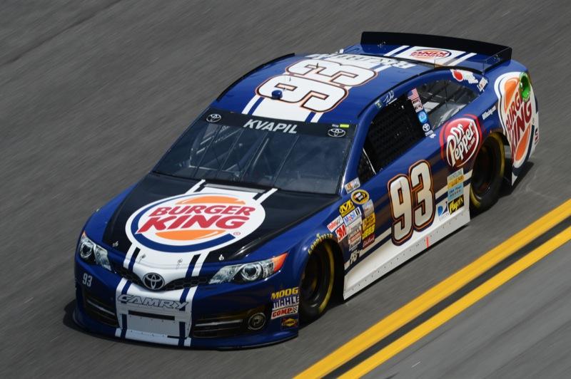 Daytona 500 Practice Travis Kvapil 93 Toyota Camry The