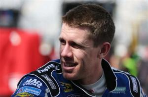 Daytona Friday Carl Edwards In Garage