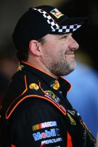 Daytona Friday Tony Stewart In Garage