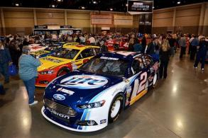 at NASCAR Hall of Fame on February 9, 2013 in Charlotte, North Carolina.