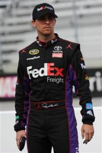 2013 Bristol1 March Qual Denny Hamlin On Grid