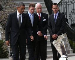 2013 white house president obama brad keselowski roger penske paul wolfe