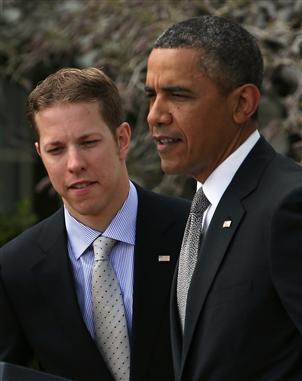 2013 white house president obama brad keselowski