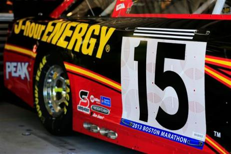 clint-bowyer-nascar-boston-marathon-bib-number-kansas-speedway-1-2013