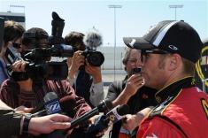 rir testing jamie mcmurray talks with media